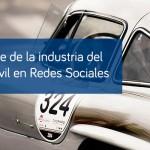 Informe de la industria del automóvil en Redes Sociales