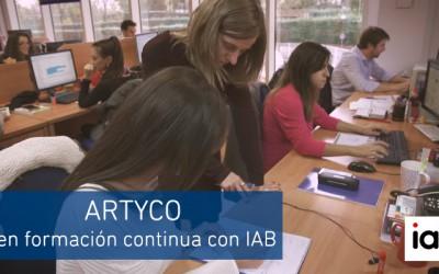 ARTYCO en formación continua con IAB