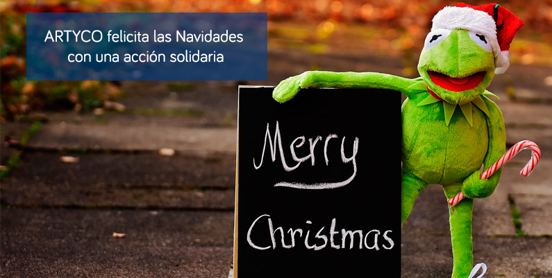 ARTYCO felicita las Navidades con una campaña solidaria