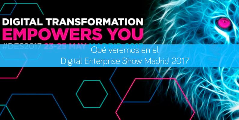 Digital Enterprise Show Madrid 2017