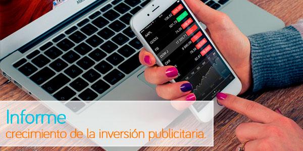 Somos el país de la Unión Europea con mayor crecimiento en la inversión publicitaria.