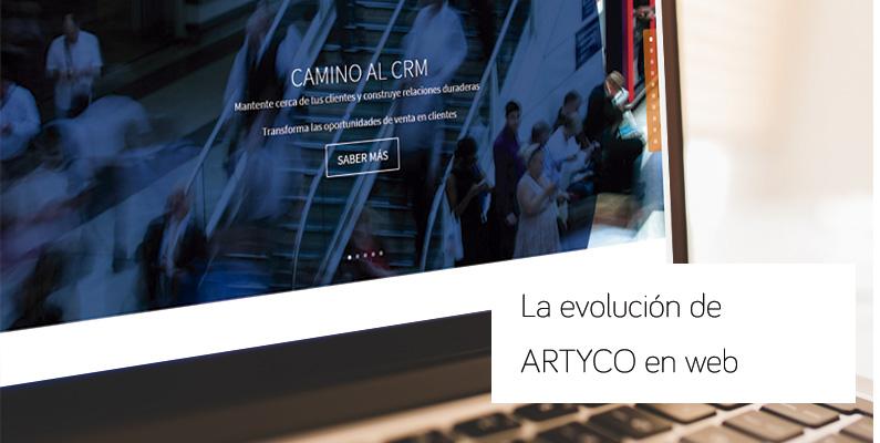 Regreso al pasado: la evolución de la web de ARTYCO