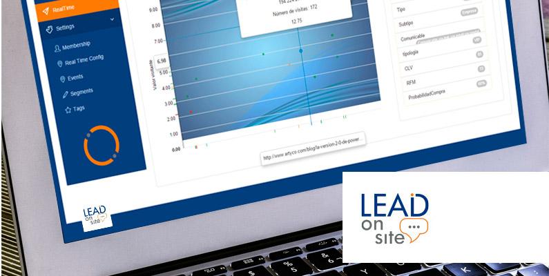 Optimiza el resultado de tus campañas con Lead on Site