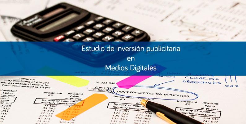 Los medios digitales acaparan la inversión publicitaria en 2015