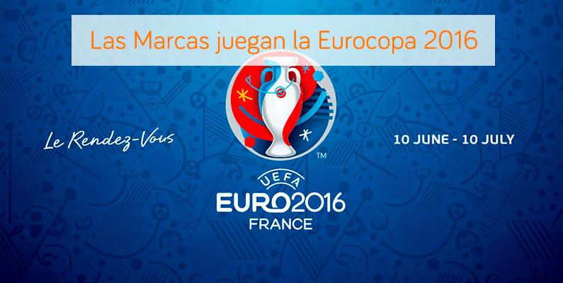 Las marcas juegan la Eurocopa