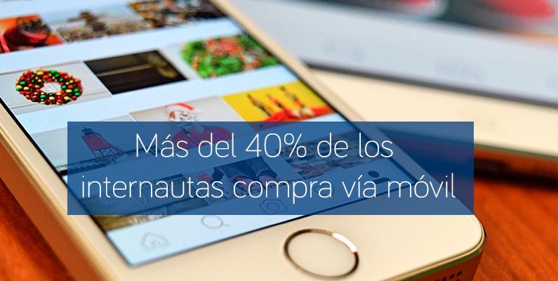 Estudio Anual Mobile Marketing: Más del 40% de los internautas compra vía móvil