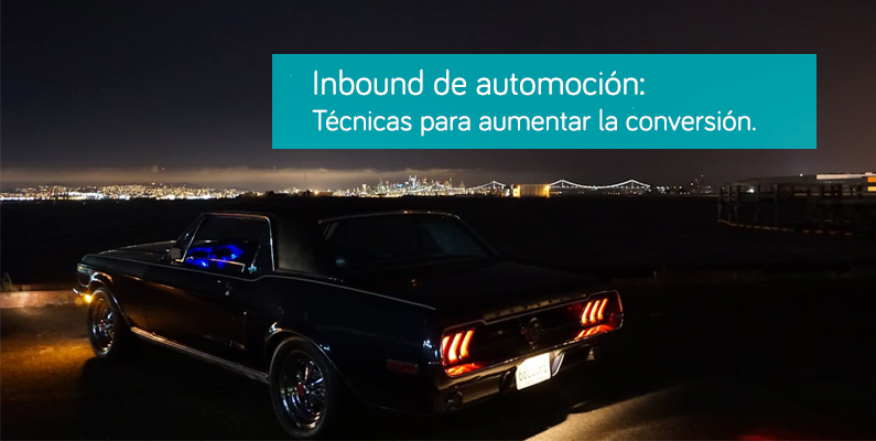 Inbound Marketing automoción