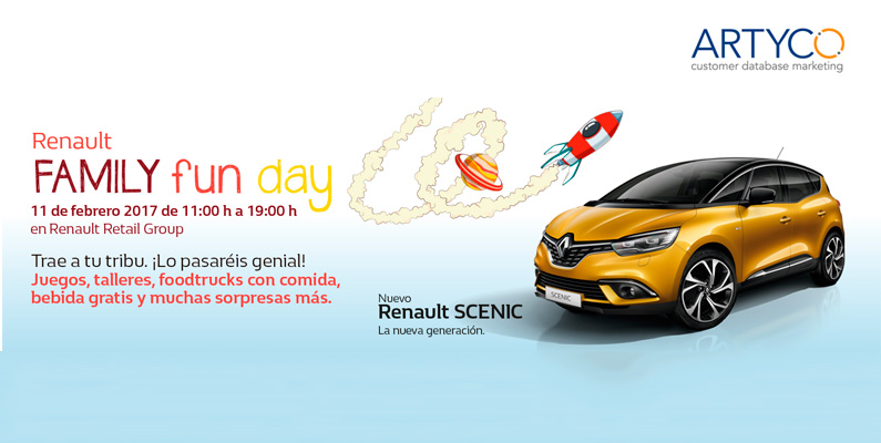 Celebramos el Family Fun Day con Renault Retail Group