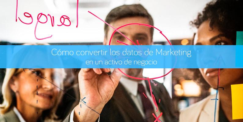 Los datos de marketing como generación de valor