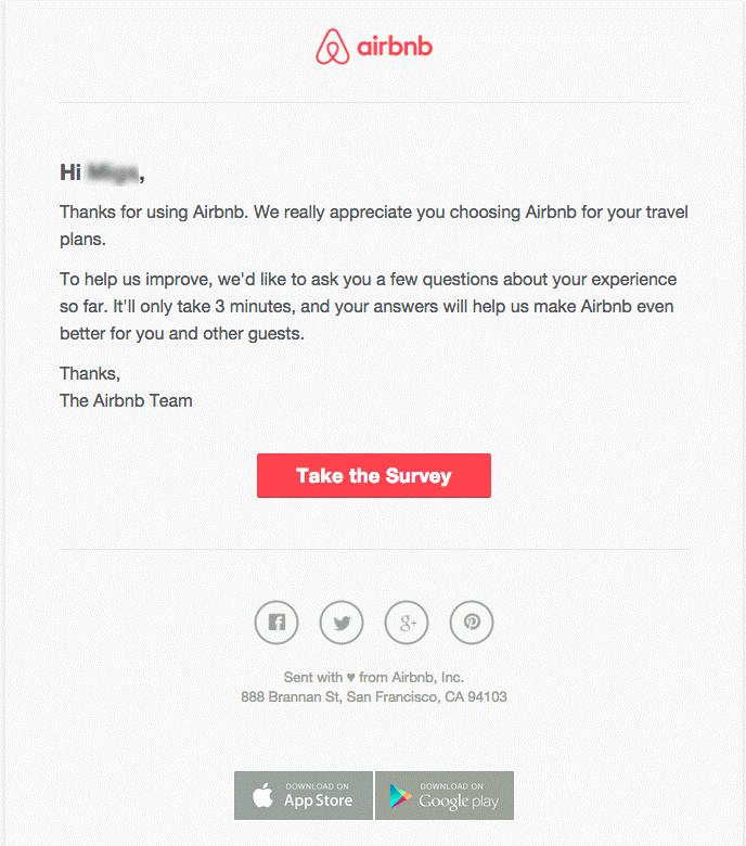Email de satisfacción - Workflow